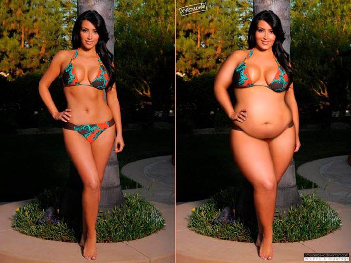 Kim Kardashian,... Fat Kirstie Alley
