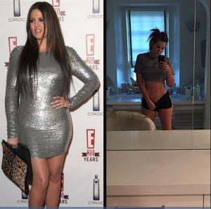 Khloé Kardashian régime minceur