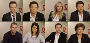 Stars s'engagent contre le SIDA