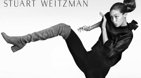 Gigi Hadid boots Stuart Weitzman