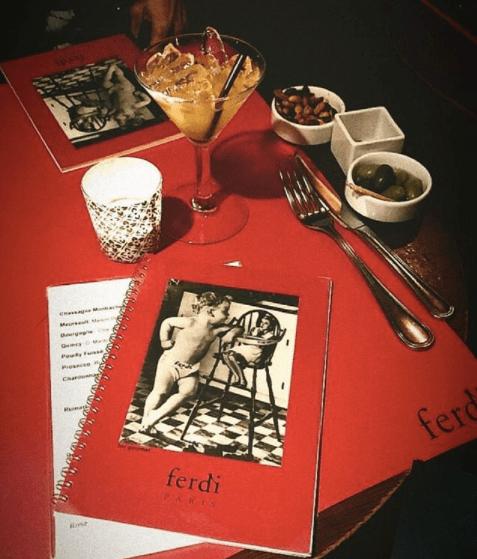 Ferdi, le restaurant parisien des célébrités américaines