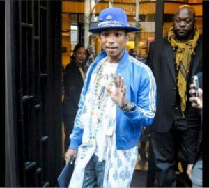 Pharrell Williams Guyliner
