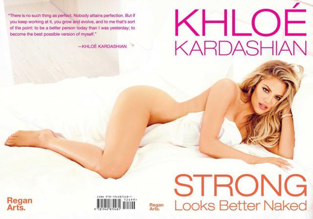 Khloé Kardashian dévoile strong looks better naked