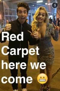 Rita Ora Snapchat