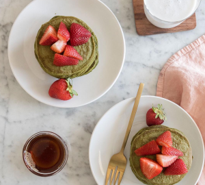 comment faire pancakes au matcha Kourtney Kardashian