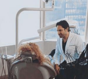 Kevin Sands dentiste célébrités Los Angels