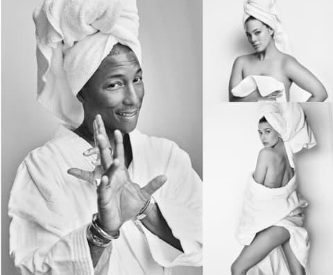 mario testino towel series