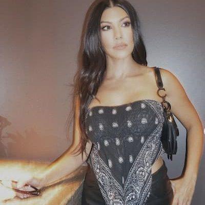 Kourtney Kardashian déodorant