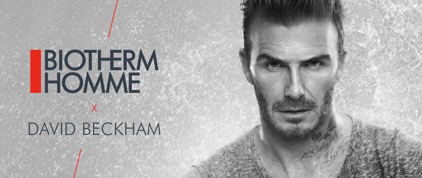David Beckham égérie De Charme Pour Biotherm Livealike