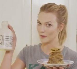 karlie Kloss pancakes healthy