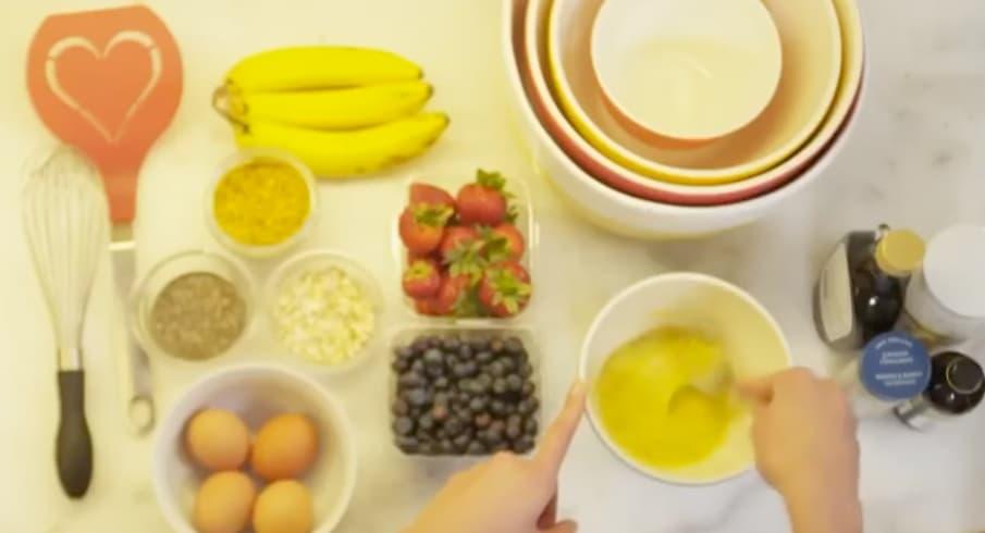 pancakes healthy Karlie Kloss