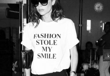 Victoria Beckham t-shirt carton