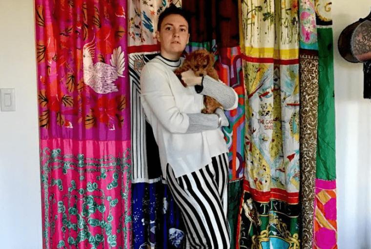 Lena Dunham dressing planning familiale