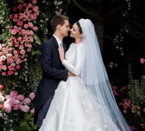 Miranda Kerr maquillage mariage