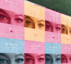 Gigi Hadid x Stuart Weitzman Eyelove