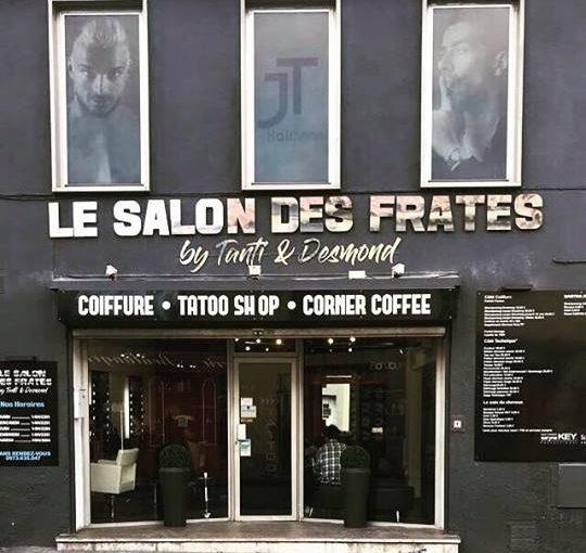 Salon des fratés Julien Tanti