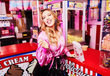 acné de grossesse Hilary Duff
