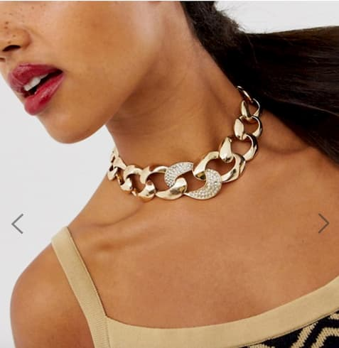 collier maillons xxl chaines xxl