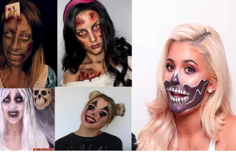 idée maquillage Halloween stars