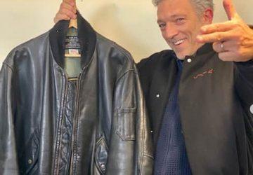 Vincent Cassel veste en cuir La Haine