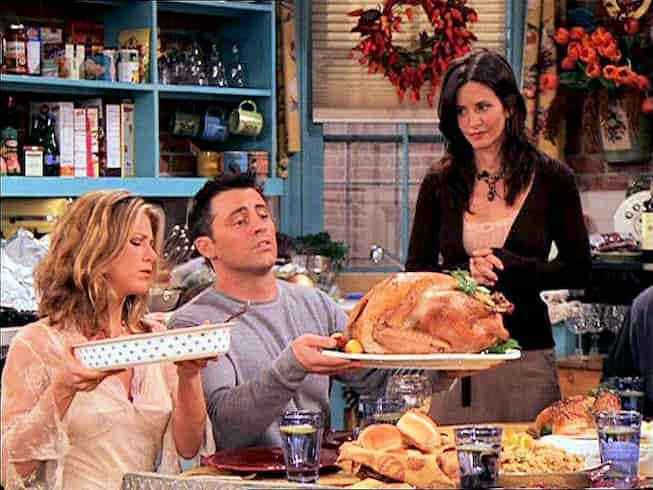 recette dinde thanksgiving Friends