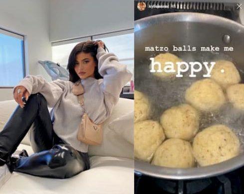 matzo ball recette Kylie Jenner