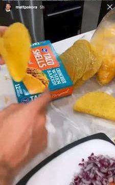 Recette tacos M Pokora et Christina Millian