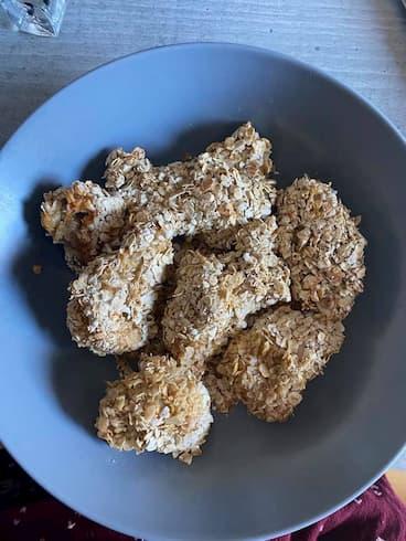 recette poulet pané Stéphanie Durant