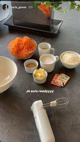 Carla Ginola carrot cake